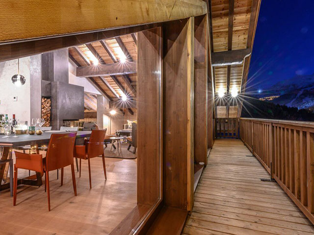 Location chalet luxe Courchevel Méribel